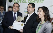 "April 12, 2013 - During the international fair ""HORECA 2013"" held at Biel – Beirut, and within ""the 8th National Extra-Virgin Olive Oil Contest"", Mr. Tony Boulos Maroun, Chairman of ATYAB/ZEITBOULOS Company, received the first prize award for the best Lebanese Extra-Virgin Olive Oil for this year"