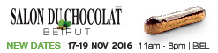 Salon du Chocolat Beirut  - 17 November 2016